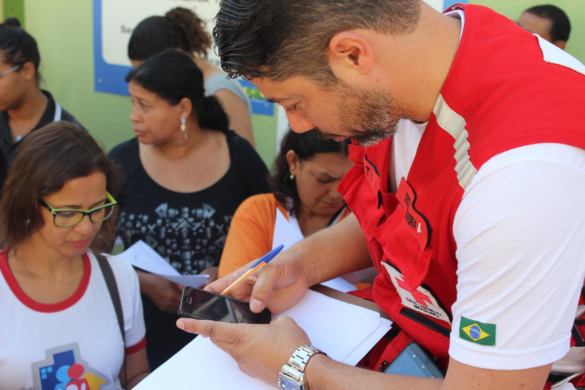Cruz Vermelha Brasileira e Prefeitura de Governador Valadares no combate a febre amarela (1)