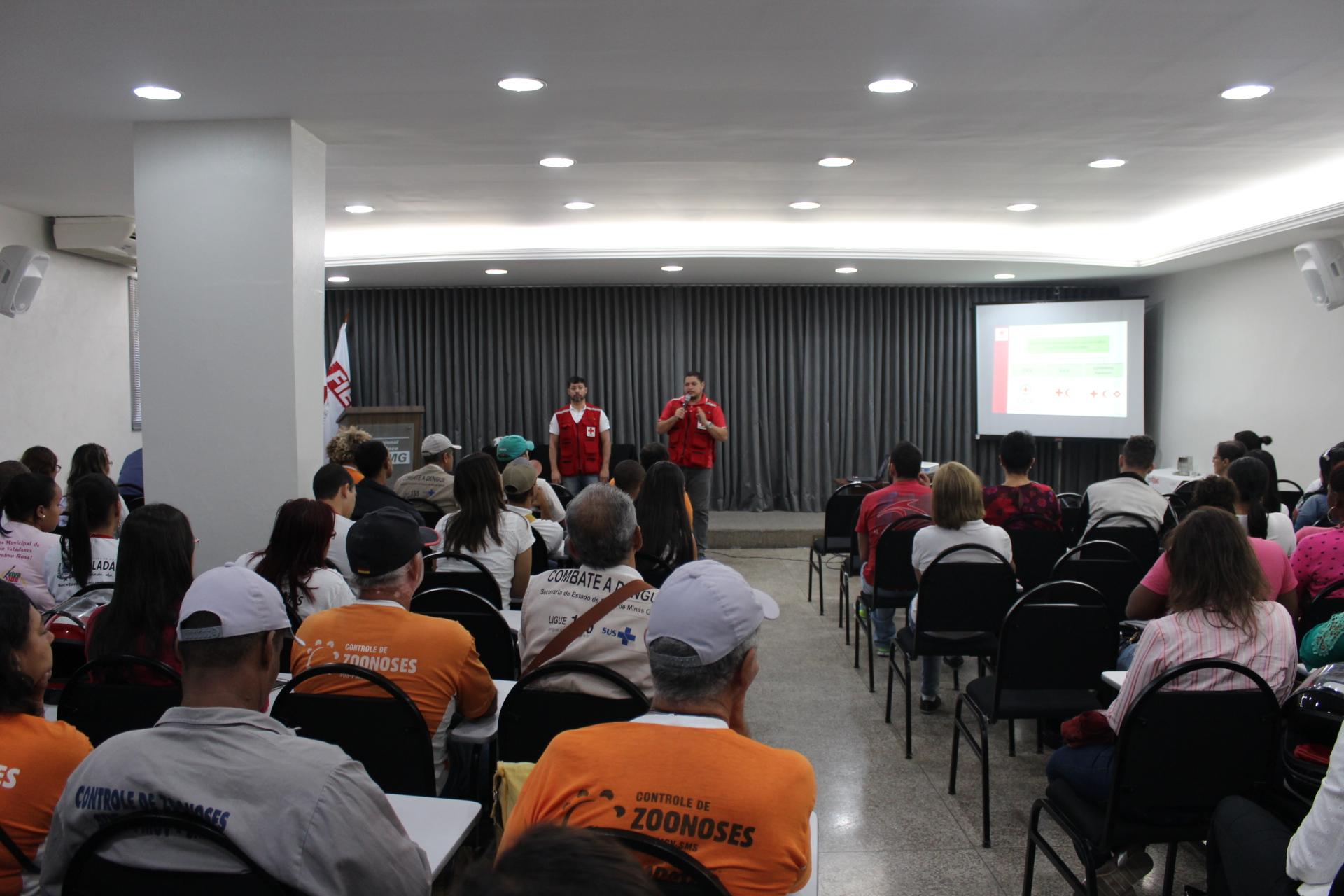 Cruz Vermelha Brasileira e Prefeitura de Governador Valadares no combate a febre amarela (2)