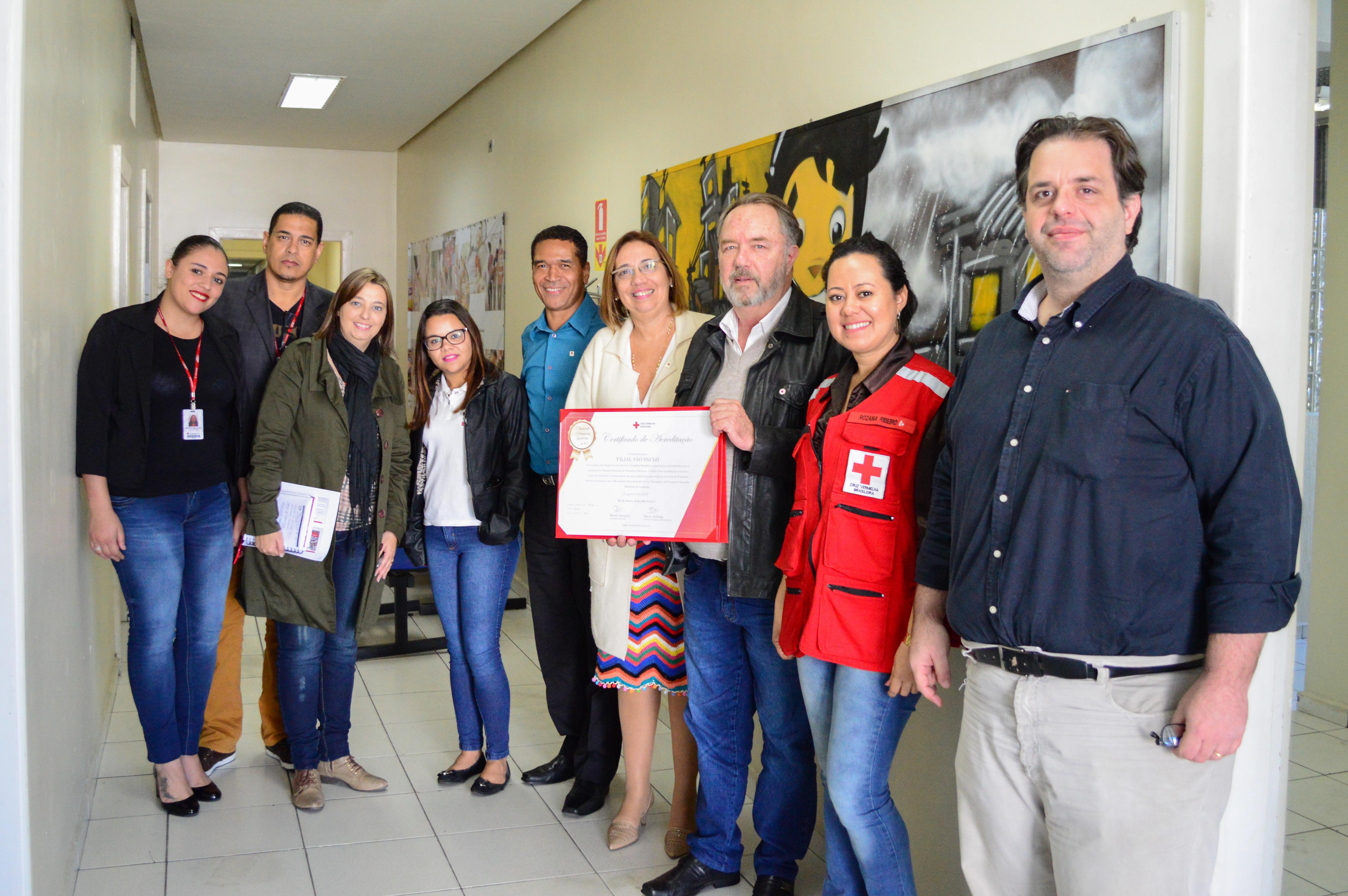 Chancela Nacional de Primeiros Socorros é entregue em São Paulo (4)
