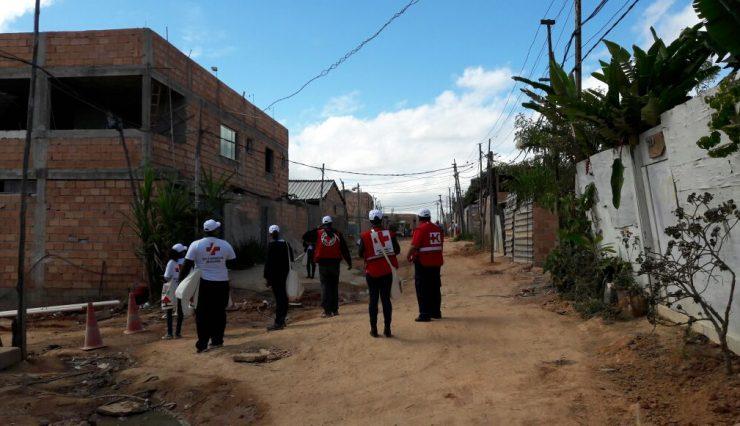 Cruz Vermelha Brasileira atua no combate à febre amarela em Belo Horizonte (2)
