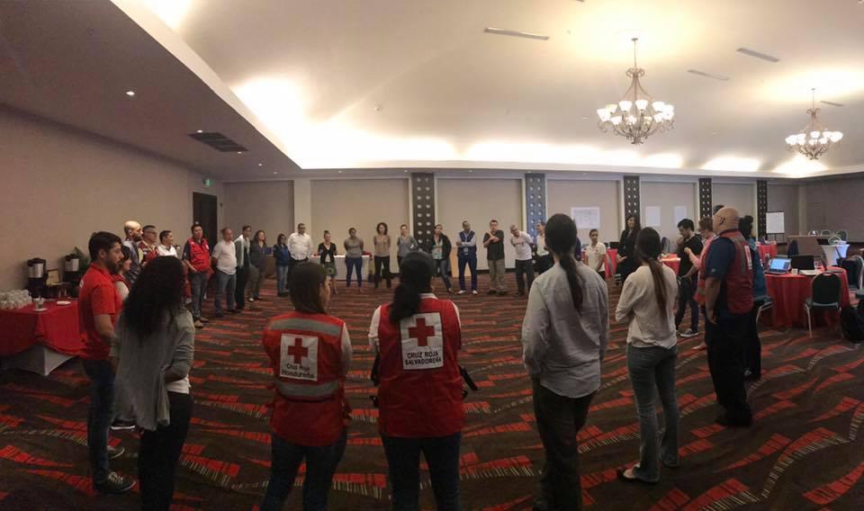 Cruz Vermelha Brasileira participa de curso de capacitação da Federação