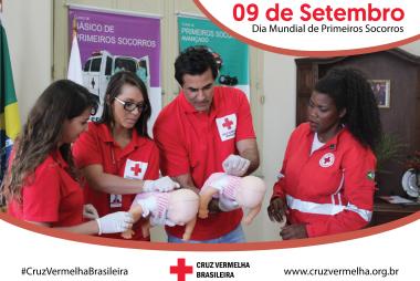 Cruz Vermelha Brasileira celebra Dia Mundial de Primeiros Socorros