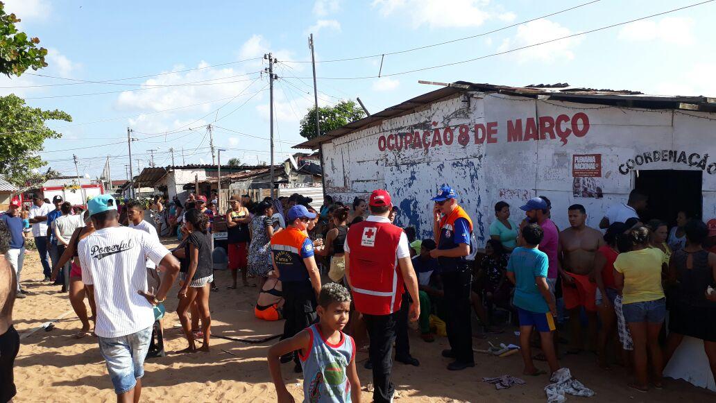 Cruz Vermelha Brasileira pede ajuda para vítimas de incêndio em Natal (2)