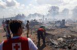 Cruz Vermelha Brasileira pede ajuda para vítimas de incêndio em Natal (3)