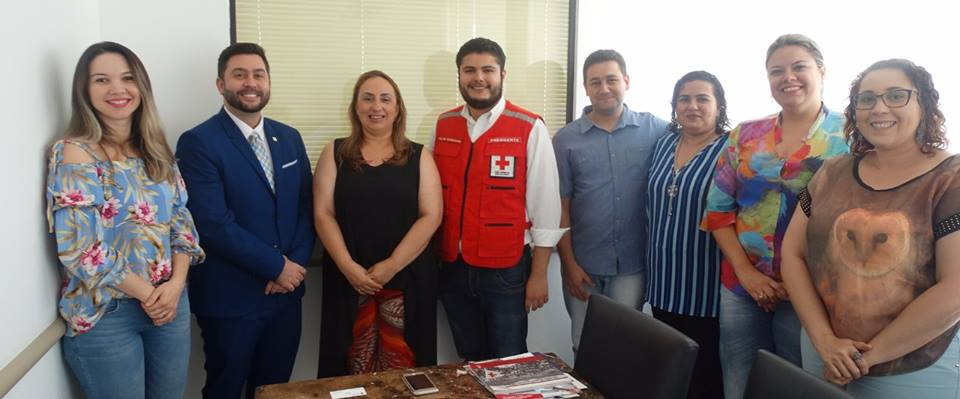 Presidente da Cruz Vermelha Brasileira cumpre agenda no Nordeste