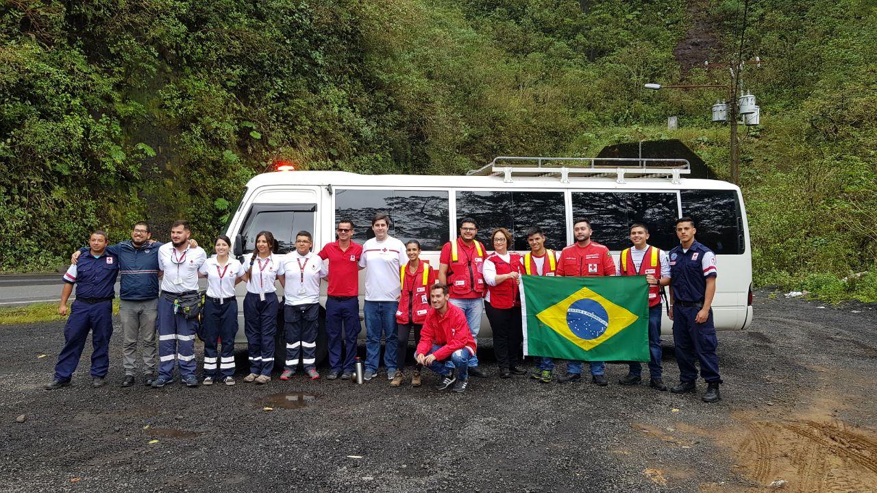 Representantes da Cruz Vermelha Brasileira participam do Acampamento Nacional da Juventude na Costa Rica (1)