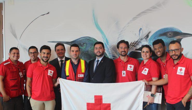Delegação da Cruz Vermelha Brasileira cumpre agenda em São Paulo (2)