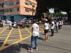 Equipe de voluntários da CVBAM