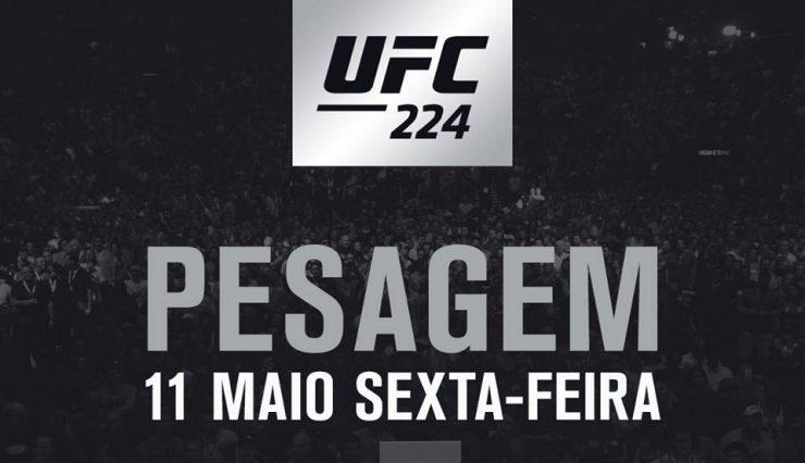 Cruz Vermelha Brasileira distribui ingressos para evento de pesagem do UFC