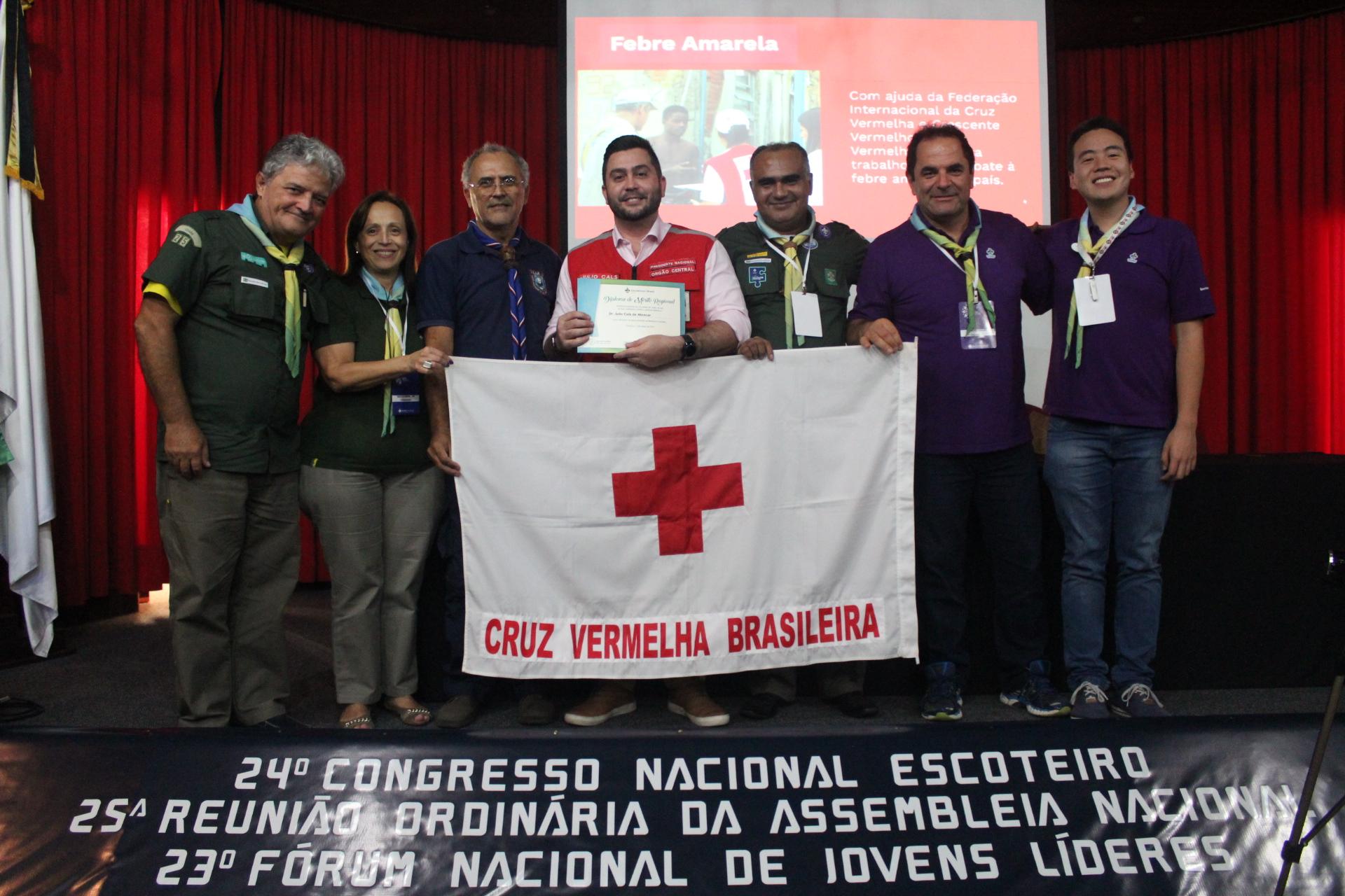 fd862ff338e Cruz Vermelha Brasileira e Escoteiros do Brasil divulgam Protocolo de  Relacionamento para parceria entre instituições (