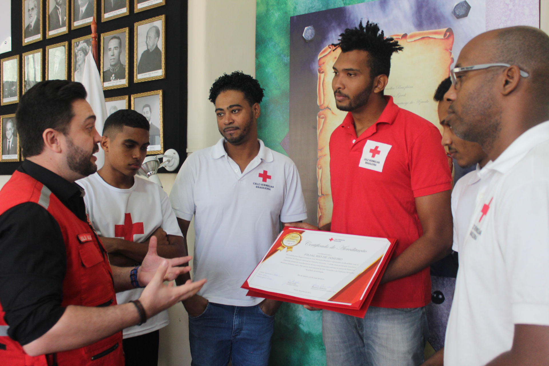 Entrega da Chancela de Primeiros Socorros a Filial do Rio de Janeiro 25.05 (35)