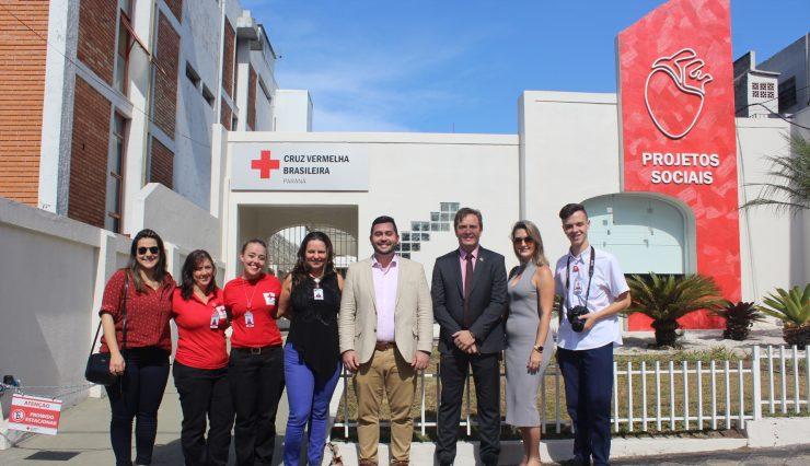 Presidente da Cruz Vermelha Brasileira cumpre agenda no Paraná (1)