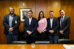 Comitiva da Cruz Vermelha Brasileira cumpre agenda positiva em Brasília (2)