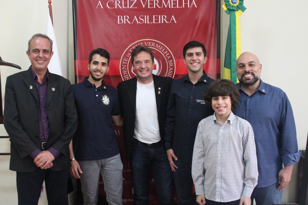 Supremo Conselho fecha parceria com a Cruz Vermelha Brasileira (4)