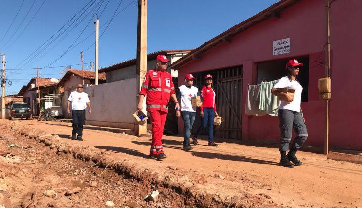 Filial do Rio Grande do Norte distribui 10 toneladas de doações a vítimas de enchente