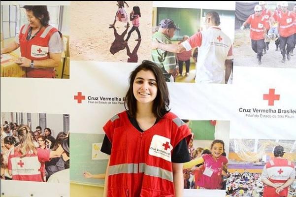 Voluntária da filial de São Paulo é escolhida para representar o Brasil em evento da ONU