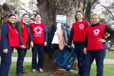 Campanha da Cruz Vermelha Brasileira aquece o inverno com doação de agasalhos esquecidos no fundo do armário (1)