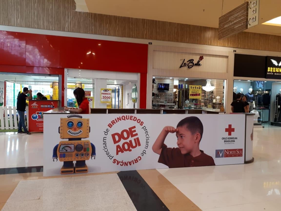 Cruz Vermelha Brasileira arrecada brinquedos para doar no Dia das Crianças