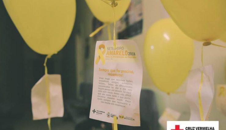 Setembro Amarelo Cruz Vermelha Brasileira na luta pela prevenção contra o suicídio (2)