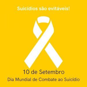 10 de Setembro Dia Mundial de Combate ao Suicidio(1)