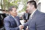 Cruz Vermelha Brasileira recebe visita do Presidente em exercício, Antonio Hamilton Martins Mourão em sua Sede Nacional (1)