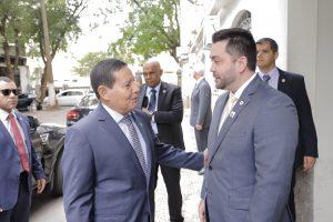 Cruz Vermelha Brasileira recebe visita do Presidente em exercício, Antonio Hamilton Martins Mourão em sua Sede Nacional (2)