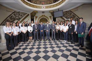 Cruz Vermelha Brasileira recebe visita do Presidente em exercício, Antonio Hamilton Martins Mourão em sua Sede Nacional (3)