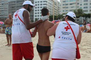 Cruz Vermelha Brasileira fecha nova parceria para o projeto Cruz Vermelha nas Praias (1)