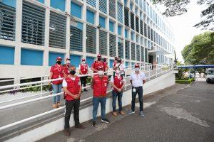 Presidente nacional da Cruz Vermelha Brasileira conhece detalhes das ações da filial de São Paulo na campanha contra à COVID-19 (1)