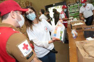 Presidente nacional da Cruz Vermelha Brasileira conhece detalhes das ações da filial de São Paulo na campanha contra à COVID-19 (10)