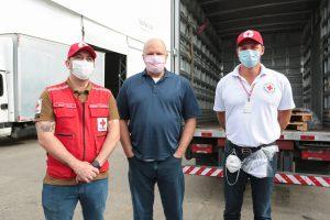 Presidente nacional da Cruz Vermelha Brasileira conhece detalhes das ações da filial de São Paulo na campanha contra à COVID-19 (12)