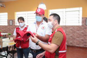 Presidente nacional da Cruz Vermelha Brasileira conhece detalhes das ações da filial de São Paulo na campanha contra à COVID-19 (13)