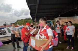Órgão Central da Cruz Vermelha Brasileira acompanha atividades de combate ao coronavírus no norte do país (2)