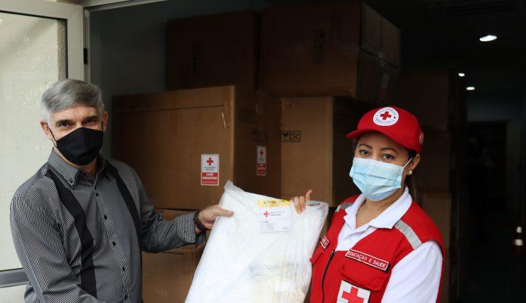 Campanha da Cruz Vermelha Brasileira contra o coronavírus no Espírito Santo doou milhares de itens a população (1)
