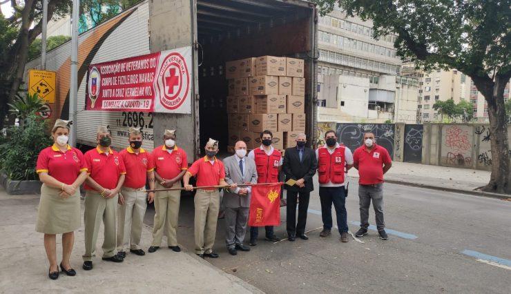 Cruz Vermelha Brasileira envia mais de 20 toneladas de materiais para Amazonas, Maranhão e Pará (3)