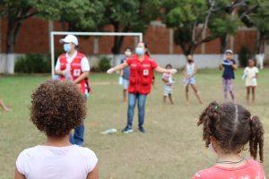 Em mais um dia de atividades no Espírito Santo, Cruz Vermelha Brasileira promove orientação de educação em saúde para crianças (1)