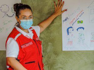 Migrantes recebem workshop do Órgão Central da Cruz Vermelha Brasileira em Mato Grosso do Sul (2)